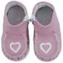 Stilingi batukai mergaitėms su širdele CLASSIC 16-20 d.