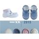 Mėlyni pirmieji batukai su lipuku SUMMER 16-20 d.
