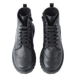 Juodi odiniai batai KK 31-38 EU d.
