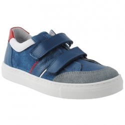 Blue sneakers for boys 33-40 EU size