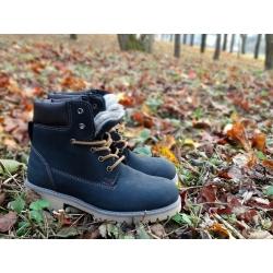 """Tamsiai mėlyni žieminiai batai """"SABALIN"""" 33 dydis"""