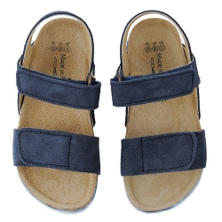 Blue unisex summer sandals 23-34 EU