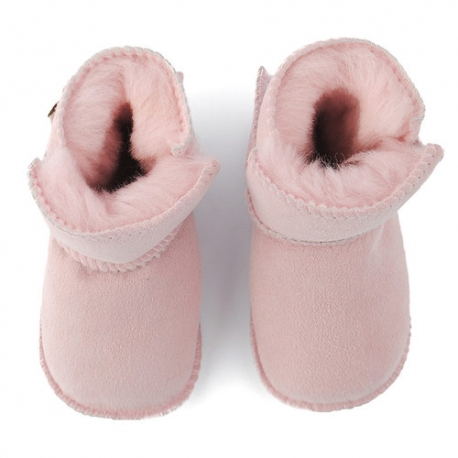 Baby winter shoes with fur