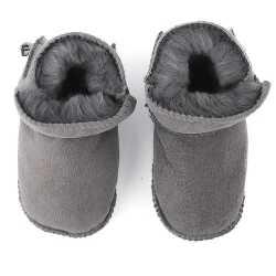 Winter Baby Boys Sheepskin shoes