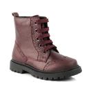 Odiniai batai su pašiltinimu mergaitėms KK bordo 28-31 dydis