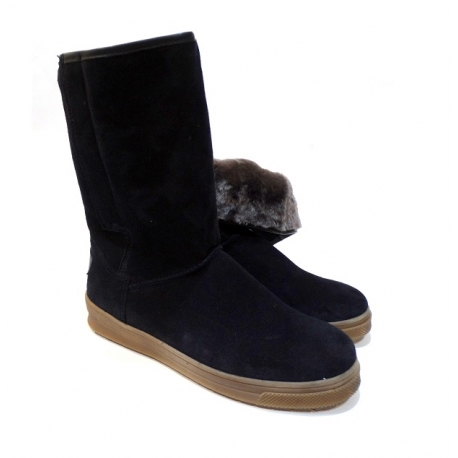 Žieminiai batai su natūraliu kailiu