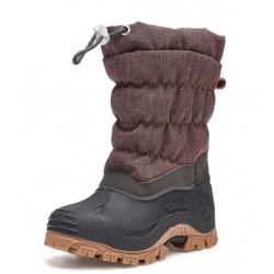 Neperslampantys sniego batai vaikams su vilna