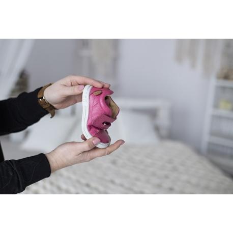 Rožiniai odiniai batukai Melton