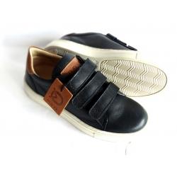 Odiniai laisvalaikio batai su lipukais - pavasarine avalyne
