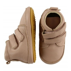 Pink Leather first shoes Melton