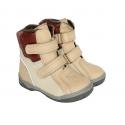 Odiniai žieminiai batai su vilna mergaitėms SPEIGAS PIRMI BATAI