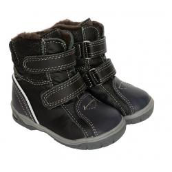 Žieminiai batai vaikams juoda-mėlyna