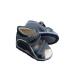 Pilkos-juodos ortopedinės basutės LINIJA