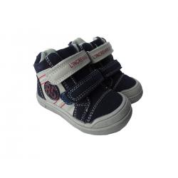 Batai su lipukais berniukams GEMO mėlyni 19, 20 dydžiai