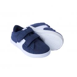 Batai su lipukais berniukams GEMO mėlyni 20 dydis