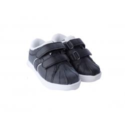 Batai su lipukais berniukams GEMO juodi 21, 24 dydžiai