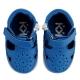 Mėlyni pirmieji batukai su lipuku berniukams KOLEV I KOLEV SUMMER 16-22 d.